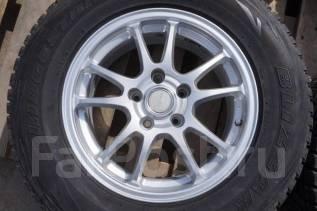 225/70R16 Зимние шины с дисками Bridgestone Eco Forme SE-10. Б/П по РФ. 6.5x16 5x114.30 ET46 ЦО 73,0мм.