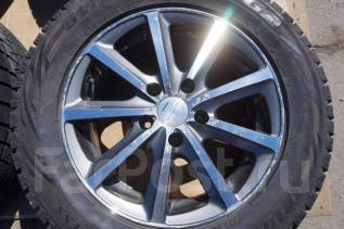 225/55R16 Зимние шины с дисами Bridgestone Sicurezza Без пробега по РФ. 6.5x16 5x114.30 ET45 ЦО 73,0мм.