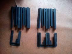 Накладки на полозья передний сидений. Audi A8, WAUZZ4D92N
