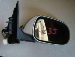 Зеркало заднего вида боковое. Nissan Skyline, HV35, NV35