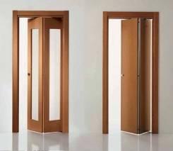Двери-гармошки складные.