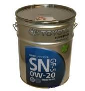Toyota. Вязкость 0W-20
