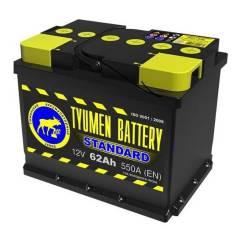 Tyumen Battery. 62 А.ч., производство Россия
