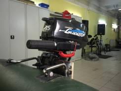 Gladiator. 3,50л.с., 2х тактный, бензин, нога S (381 мм), Год: 2014 год