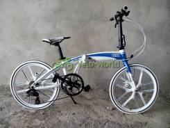 Велосипед складной алюминий AUDI рост от 135см!. Под заказ