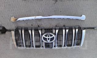 Решетка радиатора. Toyota Land Cruiser Prado, TRJ150, GRJ150 Двигатели: 1GRFE, 2TRFE