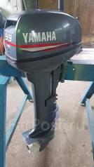 Yamaha. 9,90л.с., 2х тактный, бензин, нога L (508 мм), Год: 2010 год