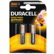 Продам мизинчиковые батарейки Duracell AAA
