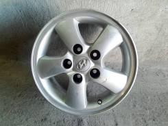 Hyundai. 6.5x15, 5x120.00, ET40, ЦО 100,1мм.
