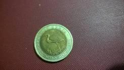 50 рублей 1993 год Красная книга Дальневосточный аист .