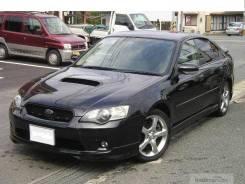 Губа. Subaru Legacy, BL, BP