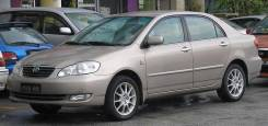 Бампер. Toyota Corolla, ZZE130, ZZE131, ZZE132, ZZE133, ZZE134 Двигатели: 1ZZFE, 2ZZGE