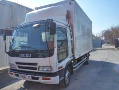 Isuzu Forward. Фургон 2005, 7 200 куб. см., 5 000 кг.