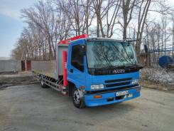 Isuzu Forward. Манипулятор 2005, 7 200 куб. см., 5 000 кг.