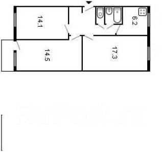 3-комнатная, Ворошилова. Индустриальный, агентство, 62 кв.м.