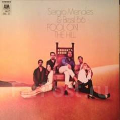 "Jazz Винил Sergio Mendes & Brasil '66 ""Fool on the hill"" 1968 Japan"