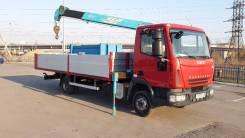 Iveco Eurocargo. Продам кран манипулятор, варовайку Iveko Eurocargo 75 E18, 4 000 куб. см., 5 000 кг., 8 м.