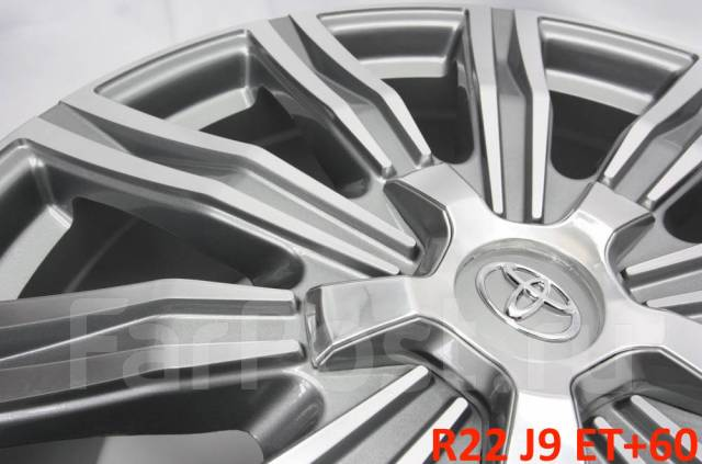 "Toyota. 9.0x22"", 5x150.00, ET60, ЦО 110,1мм."