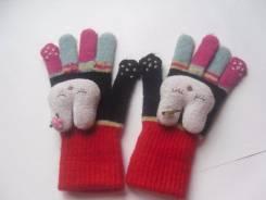 Перчатки на 6-10 лет
