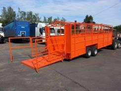 САТ ТПС-6-01, 2017. Тракторный прицеп САТ ТПС-6-01 для перевозки скота, 7 500 кг. Под заказ