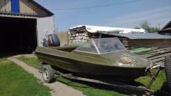 Крым-М. Год: 1980 год, длина 4,40м., двигатель подвесной, бензин