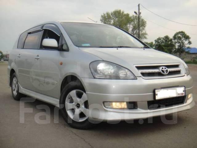 Toyota Ipsum. Без водителя