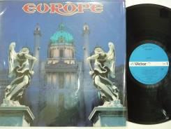 HARD! Европа / Europe - Первый альбом - JP LP 1983 фирменный винил