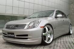Обвес кузова аэродинамический. Nissan Skyline, V35