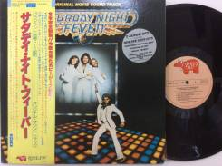 БИ ДЖИЗ / BEE GEES - Saturday Night Fever - US 2LP 1977 disco культ
