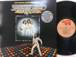 БИ ДЖИЗ / BEE GEES - Saturday Night Fever - JP 2LP 1977 disco культ
