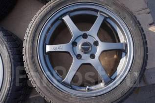 215/50R17 Зимние шины с дисками Progress. Без пробега по РФ. 7.0x17 5x114.30 ET38 ЦО 73,0мм.