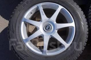 225/65R17 Зимние шины с дисками RAYS United Arrows. Без пробега по РФ. 7.0x17 4x114.30, 5x114.30 ET35 ЦО 73,0мм.