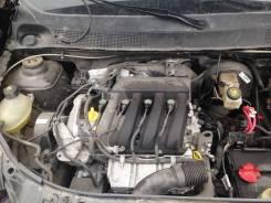 Двигатель в сборе. Renault Sandero Renault Logan Двигатель K4M