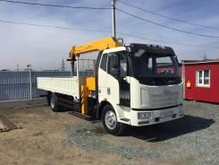 FAW. Продаётся грузовик с крановым манипулятором Обмен!, 6 618 куб. см., 8 000 кг.