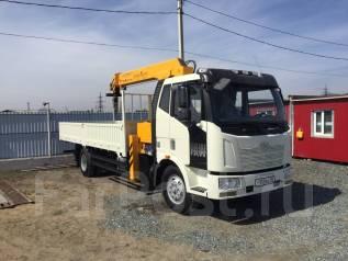 FAW. Продаётся грузовик с крановым манипулятором Распродажа, 6 618куб. см., 8 000кг.