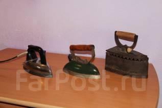 Старинные утюги, колекция. Оригинал