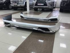 Обвес кузова аэродинамический. Lexus LX450d, URJ200 Lexus LX570