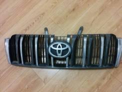 Решетка радиатора. Toyota Land Cruiser Prado, GRJ150, GRJ150L, GRJ150W, KDJ150, KDJ150L, KDJ155, LJ150, TRJ150, TRJ150L, TRJ150W, TRJ155 Двигатели: 1G...