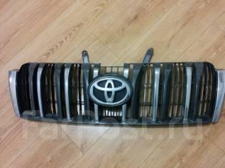 Решетка радиатора. Toyota Land Cruiser Prado, GRJ150, GRJ150L, GRJ150W, KDJ150, KDJ150L, KDJ155, LJ150, TRJ150, TRJ150W, TRJ155 Двигатели: 1GRFE, 1KDF...