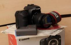 Canon EOS 40D Kit. 15 - 19.9 Мп, зум: 3х