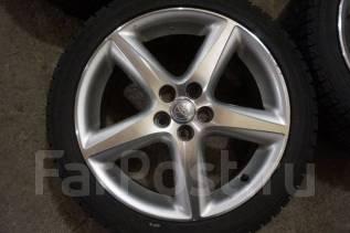 215/45R17 Зимние шины с дисками Toyota Caldina. Без пробега по РФ. 7.0x17 5x100.00 ET45 ЦО 54,1мм.