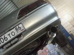 Выхлопная система. Toyota Cresta, JZX100 Toyota Mark II, JZX100 Toyota Chaser, JZX100 Двигатель 2JZGE