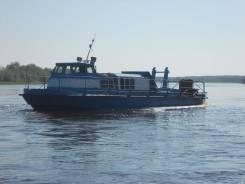 Костромской судомеханический завод. Год: 1996 год, длина 14,50м., двигатель стационарный, 170,00л.с., дизель