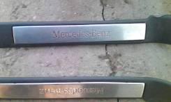 Накладка на порог. Mercedes-Benz M-Class, W163 Mercedes-Benz ML-Class