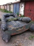 Лодка десантная, резиновая,5м. Год: 1995 год, длина 5,00м., двигатель подвесной, 30,00л.с., бензин