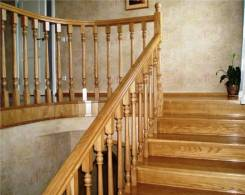 Лестницы из натурального дерева в Ваш дом