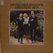 """Винил Peter, Paul & Mary """"Greatest hits"""" 1976 Japan"""