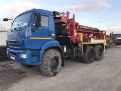 Камаз 5350. Бурильнаяя установка на базе Камаз Вездеход 5350, 11 762 куб. см., 4 000 кг.