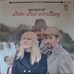 "Винил Peter, Paul & Mary ""The best"" 1967 Japan"