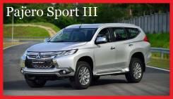 Дуги багажника. Mitsubishi Pajero Mitsubishi Pajero Sport, KS0W Двигатели: 4N15, 6B31